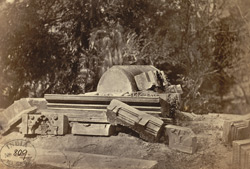 Ruins of the Tomb of Ghias-ud-din Azam Shah, Sonargaon.